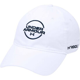 アンダーアーマー Under Armour メンズ 帽子 【Jordan Spieth Washed Cotton Golf Hat】White/Academy