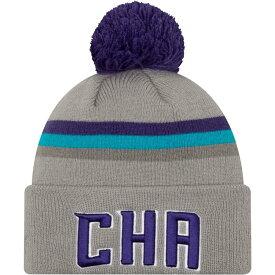 ニューエラ New Era メンズ ニット 帽子【Charlotte Hornets City Edition Knit Hat】