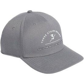 アディダス adidas メンズ キャップ 帽子【Three Stripes Brand Golf Hat】Grey