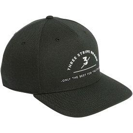 アディダス adidas メンズ キャップ 帽子【Three Stripes Brand Golf Hat】Legend Earth