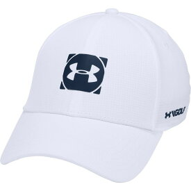 アンダーアーマー Under Armour メンズ 帽子 【Official Tour 3.0 Golf Hat】White/Academy