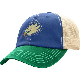 トップオブザワールド Top of the World メンズ キャップ 帽子【Florida Gulf Coast Eagles Cobalt Blue/White Off Road Adjustable Hat】