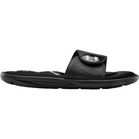 アンダーアーマー Under Armour レディース サンダル・ミュール シューズ・靴【Ignite VI Slides】Black/White