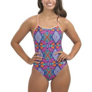 ドルフィン Dolfin レディース ワンピース 水着・ビーチウェア【Uglies Print String Back One Piece Swimsuit】Maya