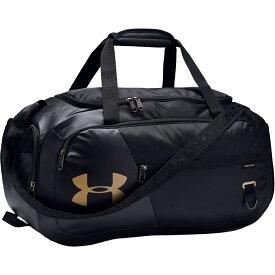 アンダーアーマー Under Armour ユニセックス ボストンバッグ・ダッフルバッグ バッグ【Undeniable 4.0 Small Duffle Bag】Black/Metallic Gold