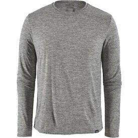 パタゴニア Patagonia メンズ トップス 【Long-Sleeved Capilene Cool Daily Shirt】Feather Grey