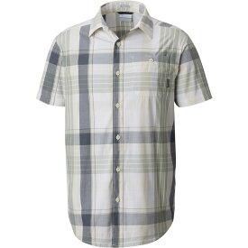 コロンビア Columbia メンズ トップス 【Boulder Ridge Short Sleeve Shirt】Stone Plaid