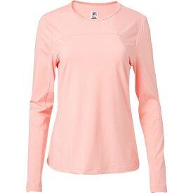 フィラ Fila レディース テニス トップス【UV Blocker Long Sleeve Tennis Shirt】Light Pink