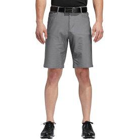 アディダス adidas メンズ ゴルフ ショートパンツ ボトムス・パンツ【Ultimate365 Heather 5 Pocket Golf Shorts】Grey Three Heather