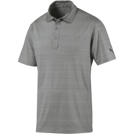 プーマ PUMA メンズ ゴルフ ポロシャツ トップス【Breezer Golf Polo】Quarry Heather