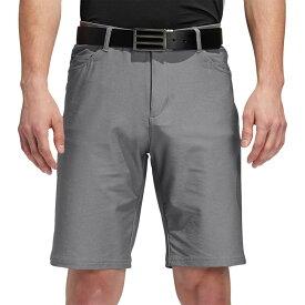 アディダス adidas メンズ ゴルフ ショートパンツ ボトムス・パンツ【Ultimate365 Heather 5 Pocket Golf Shorts】Grey