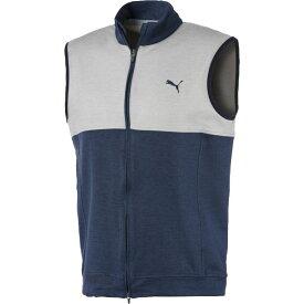 プーマ PUMA メンズ ゴルフ ノースリーブ トップス【Warm Up Golf Vest】Peacoat