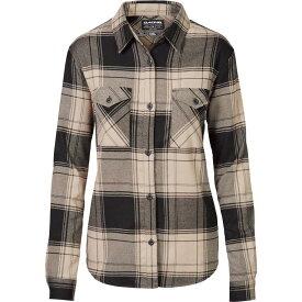 ダカイン DAKINE レディース ブラウス・シャツ フランネルシャツ トップス【Noella Tech Flannel Button Down Shirt】Barley