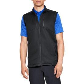 アンダーアーマー Under Armour メンズ ゴルフ ノースリーブ トップス【Storm Daytona Golf Vest】Black