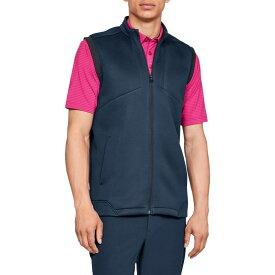 アンダーアーマー Under Armour メンズ ゴルフ ノースリーブ トップス【Storm Daytona Golf Vest】Academy