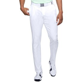 アンダーアーマー Under Armour メンズ ゴルフ テーパードパンツ ボトムス・パンツ【Showdown Tapered Leg Golf Pants】White