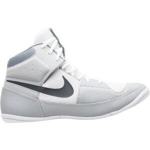 ナイキ Nike メンズ レスリング シューズ・靴【Fury Wrestling Shoes】White/Grey