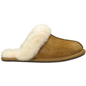 アグ UGG レディース スリッパ シューズ・靴【Australia Scuffette II Slippers】Chestnut