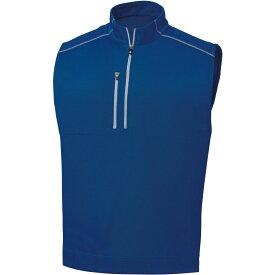 フットジョイ FootJoy メンズ ゴルフ ノースリーブ トップス【Half Zip Golf Vest】Ultramarine