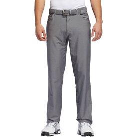 アディダス adidas メンズ ゴルフ ボトムス・パンツ【Ultimate365 Heather 5 Pocket Golf Pants】Grey Three Heather