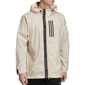 アディダス adidas メンズ ジャケット ウィンドブレーカー アウター【W.N.D Parley Windbreaker Jacket】Linen