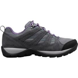 コロンビア Columbia レディース ハイキング・登山 シューズ・靴【Redmond V2 Waterproof Hiking Shoes】Ti Grey Steel/Plum Purple