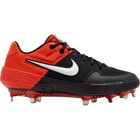 ナイキ Nike メンズ 野球 スパイク シューズ・靴【Alpha Huarache Elite 2 Metal Baseball Cleats】Black/Orange