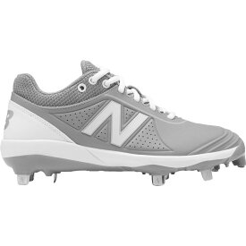ニューバランス New Balance レディース 野球 スパイク シューズ・靴【FUSEV2 Metal Fastpitch Softball Cleats】Grey/White