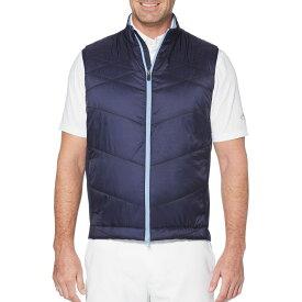 キャロウェイ Callaway メンズ ゴルフ ノースリーブ トップス【Swing-Tech Quilted Golf Vest】Peacoat