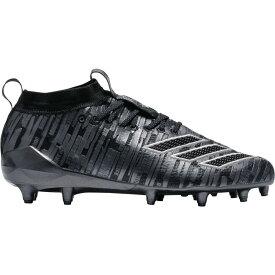 アディダス adidas メンズ アメリカンフットボール スパイク シューズ・靴【adizero 8.0 Three Stripe Life Football Cleats】Black/Silver