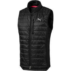 プーマ PUMA メンズ ゴルフ ノースリーブ トップス【Quilted Primaloft Golf Vest】Puma Black
