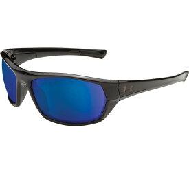 アンダーアーマー Under Armour メンズ スポーツサングラス 【Powerbrake Fishing Tuned Offshore Polarized Sunglasses】Gloss Black/Offshore Polar Lens