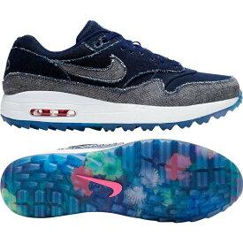 ナイキ Nike メンズ ゴルフ シューズ・靴【Limited Edition Air Max 1 G NRG Denim Golf Shoes】Denim