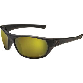 アンダーアーマー Under Armour メンズ スポーツサングラス 【Powerbrake Fishing Tuned Shoreline Polarized Sunglasses】Satin Black/Shoreline Polar Lens