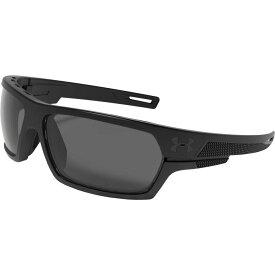 アンダーアーマー Under Armour メンズ メガネ・サングラス 【Battlewrap Polarized Sunglasses】Black/Grey Polarized