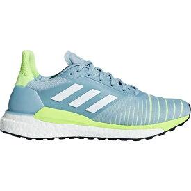 アディダス adidas レディース ランニング・ウォーキング シューズ・靴【Solar Glide ST Running Shoes】Grey/White/Yellow