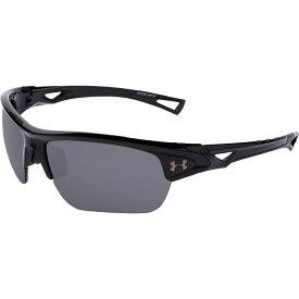アンダーアーマー Under Armour メンズ メガネ・サングラス 【Octane Polarized Sunglasses】Shiny Black/Grey