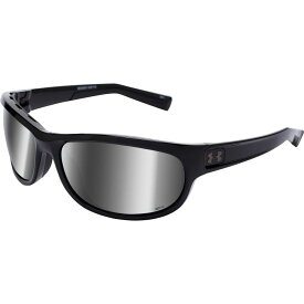 アンダーアーマー Under Armour メンズ メガネ・サングラス 【Capture Storm Polarized Sunglasses】Shiny Black/Grey