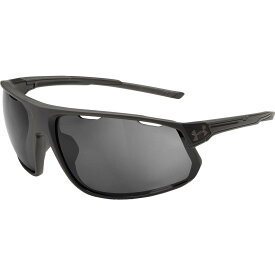 アンダーアーマー Under Armour メンズ メガネ・サングラス 【Strive Running Polarized Sunglasses】Satin Carbon/Graphite Polar Mirror