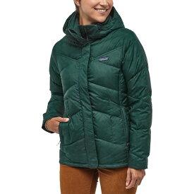 パタゴニア Patagonia レディース ダウン・中綿ジャケット アウター【Down With It Jacket】Piki Green
