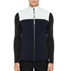 ジェイ リンドバーグ J.Lindeberg メンズ ゴルフ ノースリーブ ソフトシェル トップス【Archer Softshell Golf Vest】Black
