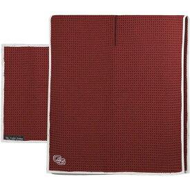クラブグローブ Club Glove ユニセックス ゴルフ タオル【Tandem Microfiber Golf Towel】Burgundy
