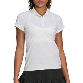 アディダス adidas レディース テニス ポロシャツ トップス【Club Tennis Polo】White/Matte Silver