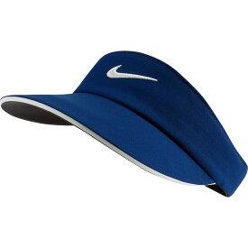 ナイキ Nike レディース ゴルフ 【AeroBill Golf Visor】Blue Void/Sail