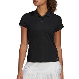 アディダス adidas レディース テニス ポロシャツ トップス【Club Tennis Polo】Black/Matte Silver