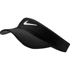 ナイキ Nike レディース ゴルフ 【2020 AeroBill Golf Visor】Black/White