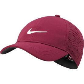 ナイキ Nike レディース ゴルフ 【2020 AeroBill Heritage86 Perforated Golf Hat】Villain Red/White