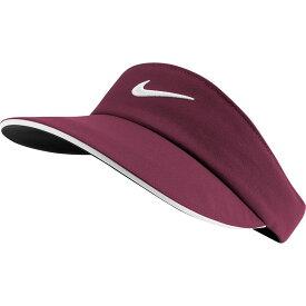 ナイキ Nike レディース ゴルフ 【AeroBill Golf Visor】Villain Red/White