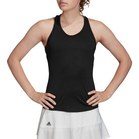 アディダス adidas レディース テニス タンクトップ トップス【Club Tennis Tank】White/Black/Matte Silver