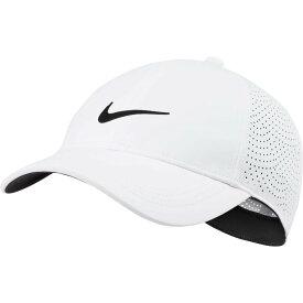 ナイキ Nike レディース ゴルフ 【2020 AeroBill Heritage86 Perforated Golf Hat】White/Black